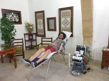 Πραγματοποιήθηκε με επιτυχία η εθελοντική αιμοδοσία του Δήμου μας